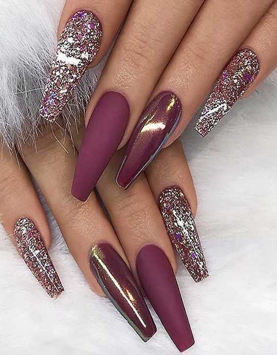 Graceful Long Nails Art Styles You Ve Never Seen Coffin Nails