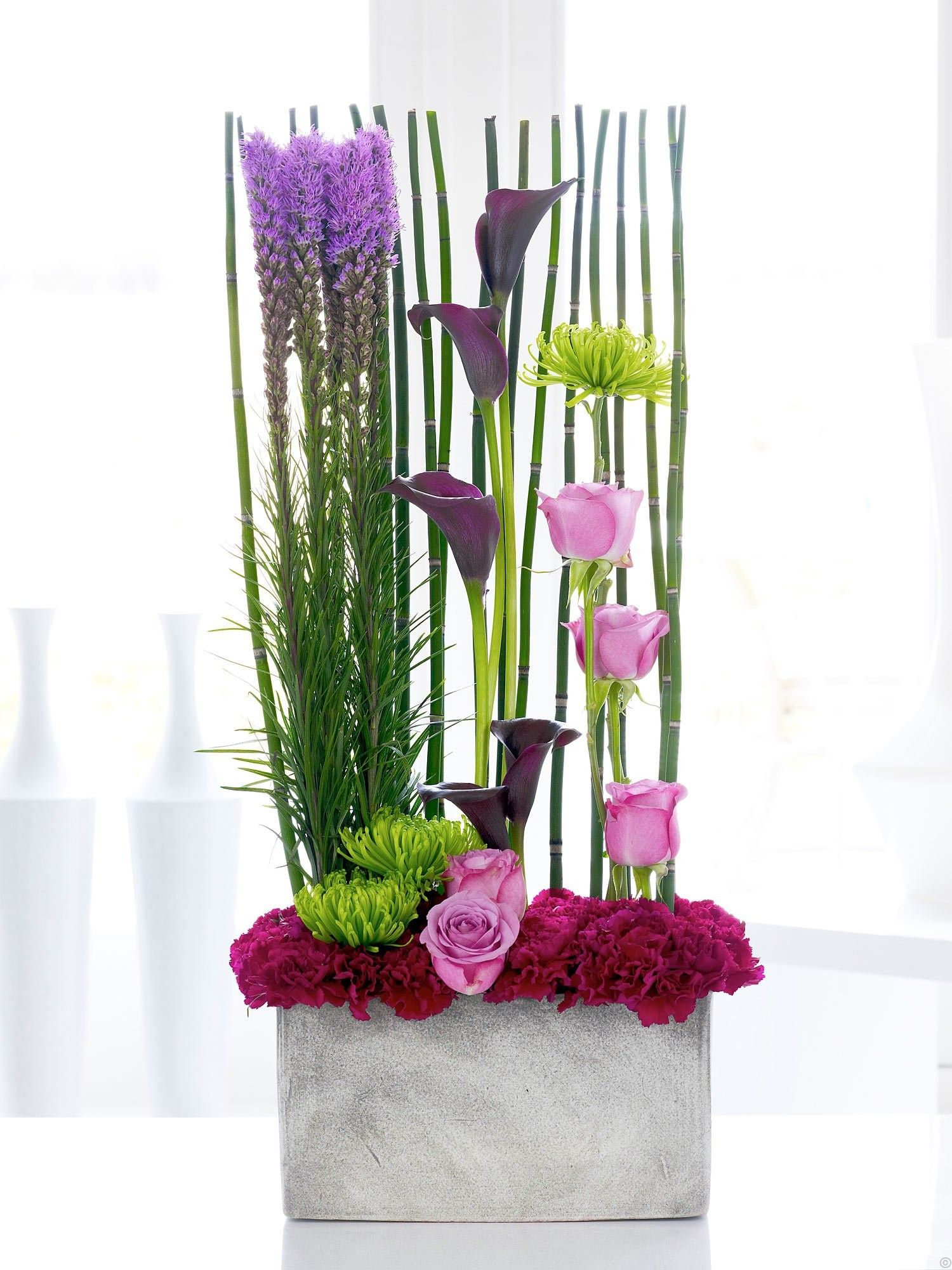Luxury Calla Lily and Rose Cascade