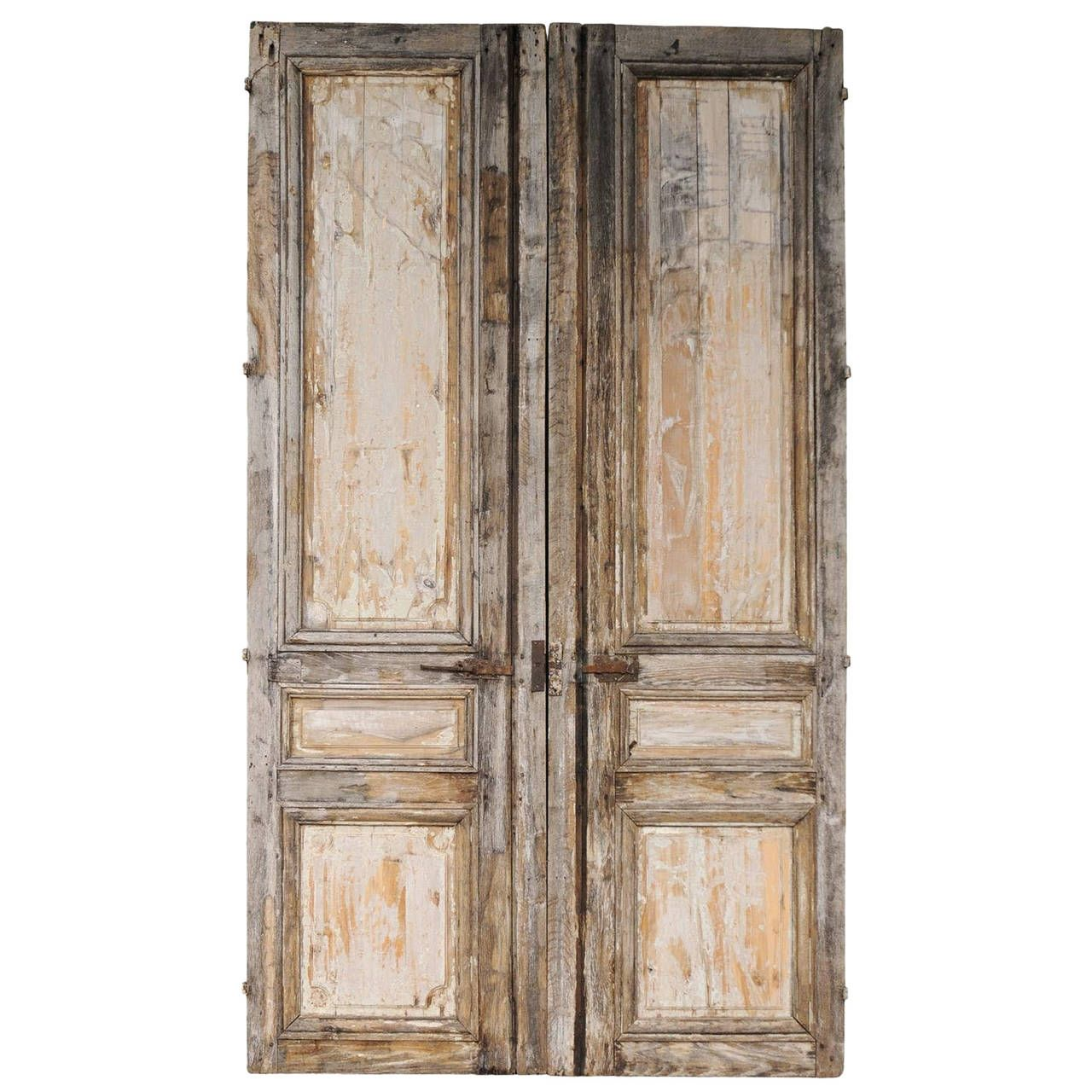 Pair Of 19th Century Wooden Doors From A Unique Collection Of Antique And Modern Doors And Gates At Https Www 1stdib Wooden Doors Vintage Doors Modern Door