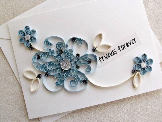 Beautiful Friendship Day Card Handmade Happy Friendship Day Card