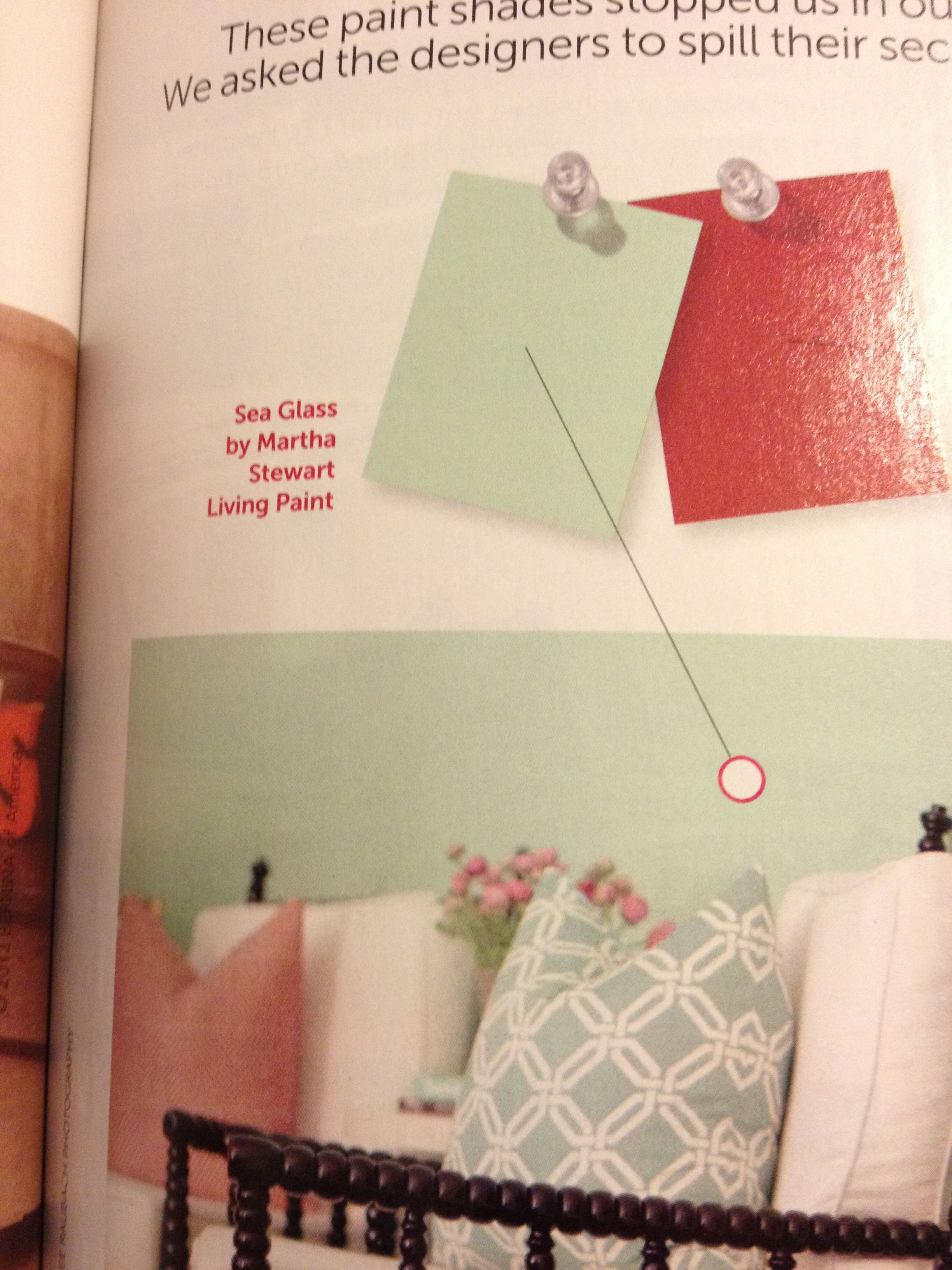 Martha Stewart Bedroom Paint Colors Paint Color Sea Glass By Martha Stewart For The Home Random