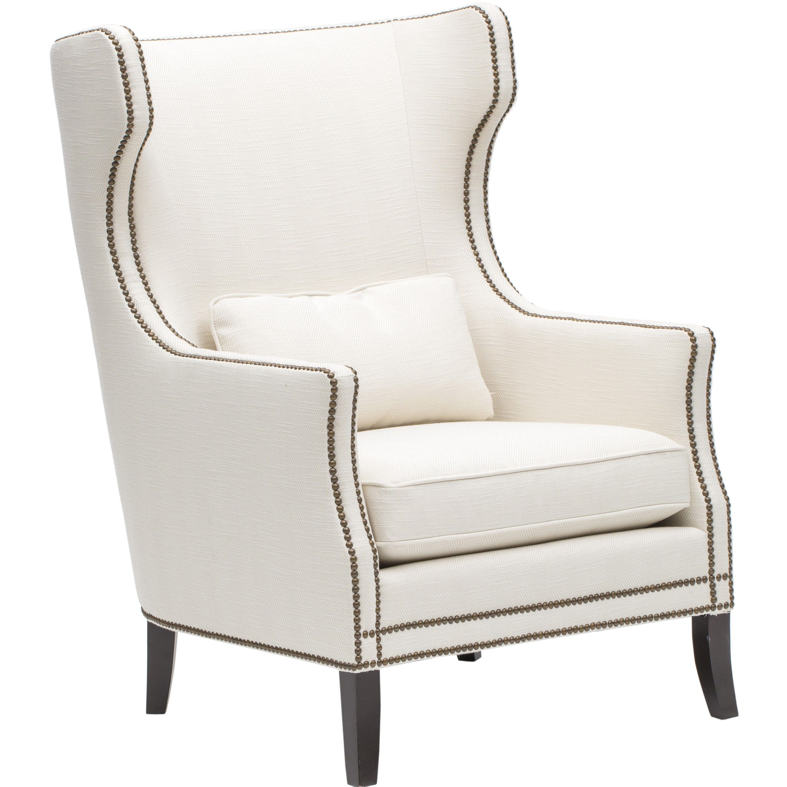 *actual Bedroom Chair* Kingston Chair, White $1,299.00