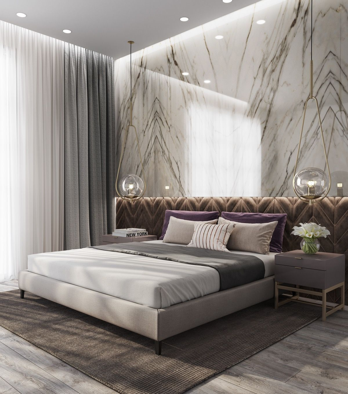 Luxury Home Interiors And Design Ideas From The Best In Luxury Condos Penthouses And Architectu Luxurious Bedrooms Modern Luxury Bedroom Modern Bedroom Design
