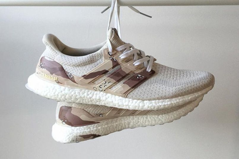 f191565a128 These Customized UltraBOOSTs Get Dressed in a