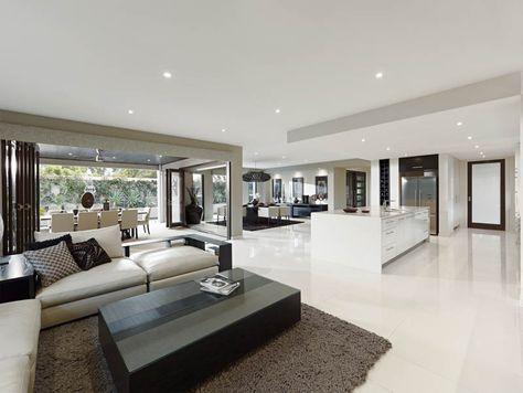 Open Plan Living Designs \ Ideas Metricon deco Pinterest Casas