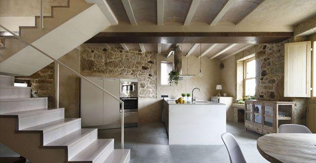 scale interne per case di campagna - Cerca con Google | SALA/CUCINA ...