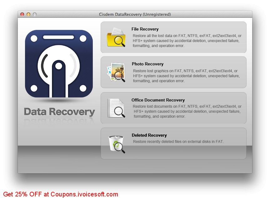 Cisdem Data Recovery For Mac Coupon On Hug Day Promotions
