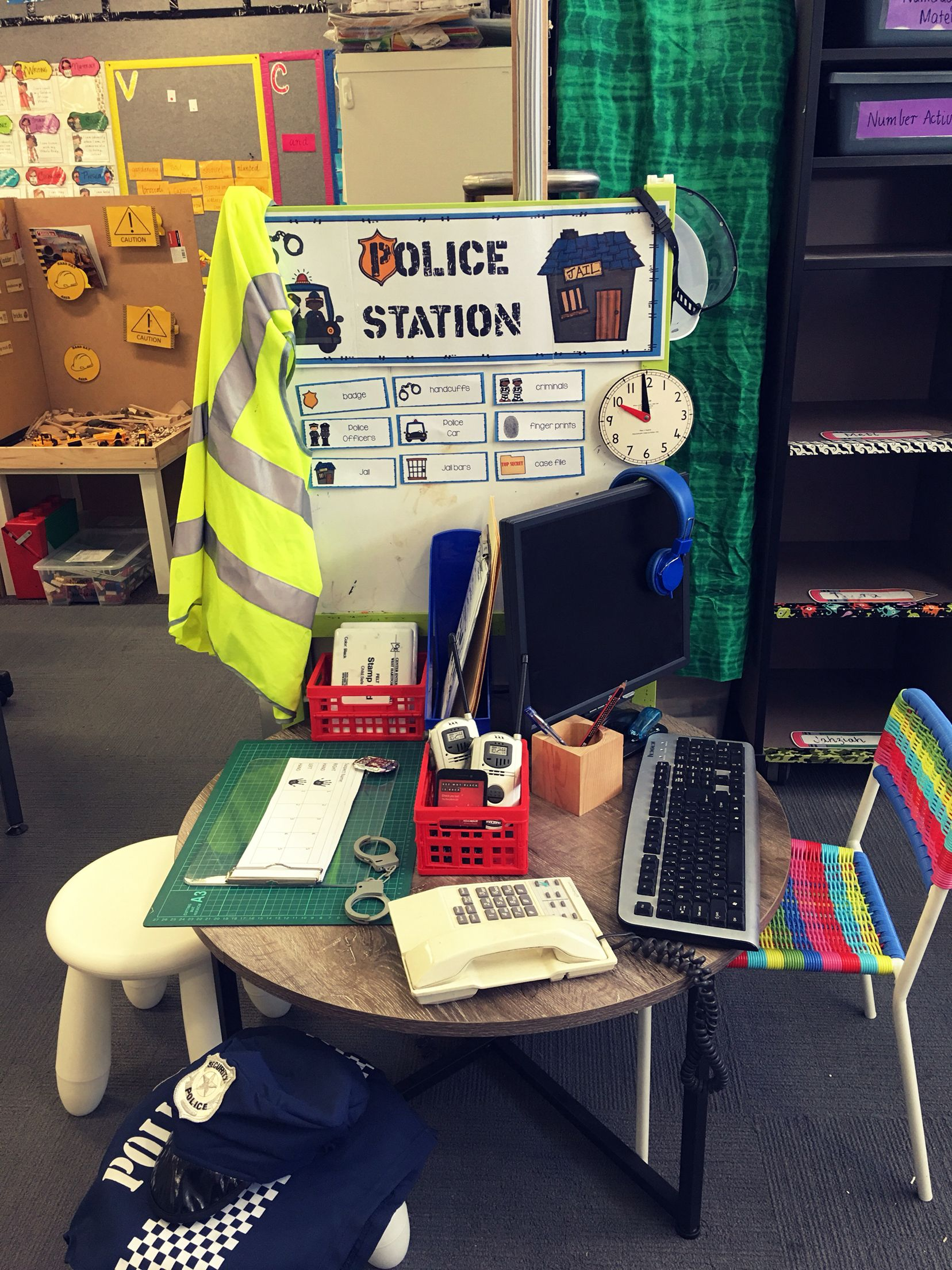 Police Station Dramatic Play Investigations