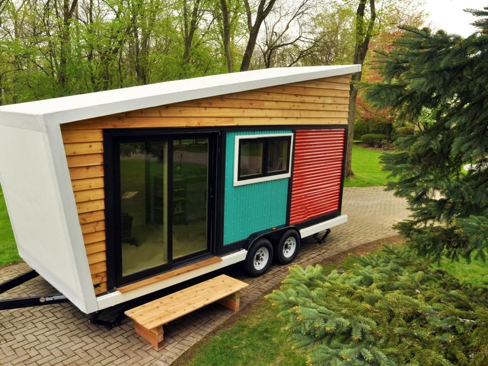 13 Cool Tiny Houses On Wheels Modern Tiny House Tiny Mobile House Small Wooden House