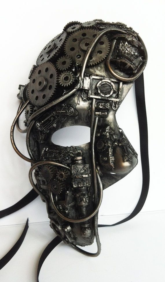 Mask 3d Printing Mascarade Mask Steampunk Mask Steampunk Accessories
