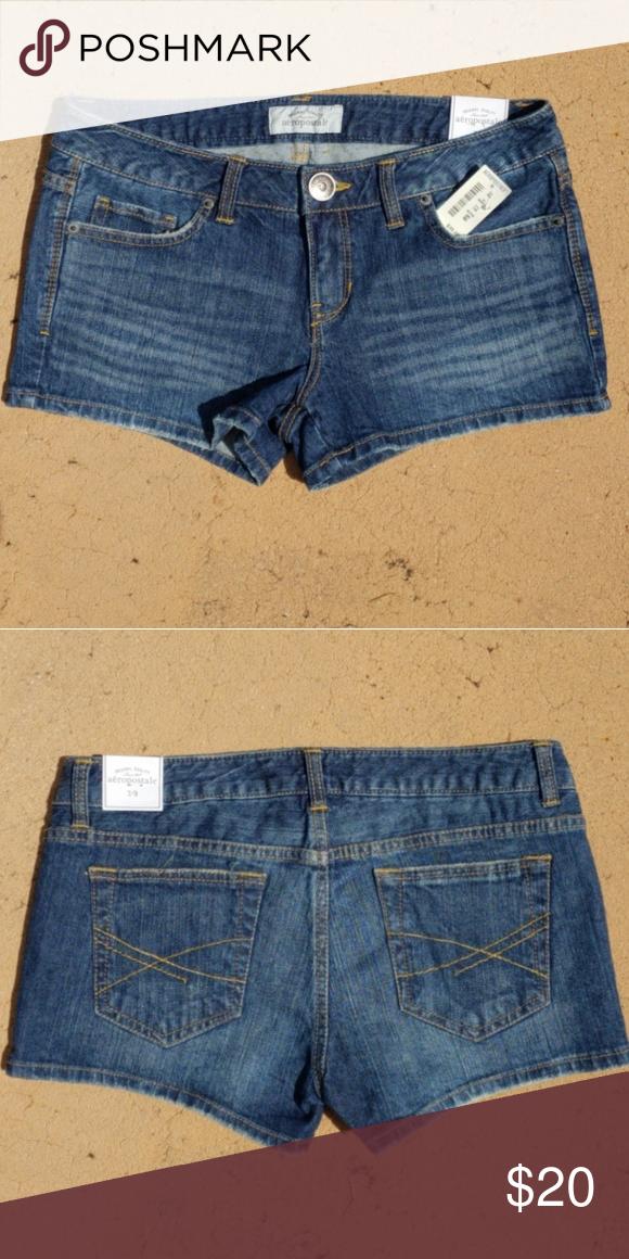 5735a9b327 NWT AEROPOSTALE Jean Shorts Aeropostale shorts. Never worn, still has tags  on them. Aeropostale Shorts Jean Shorts