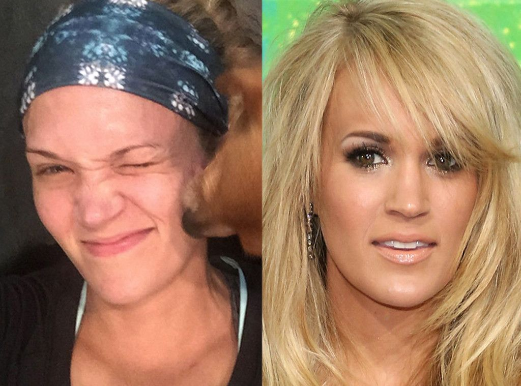 Carrie Underwood from Stars Without Makeup | Celebrity ...