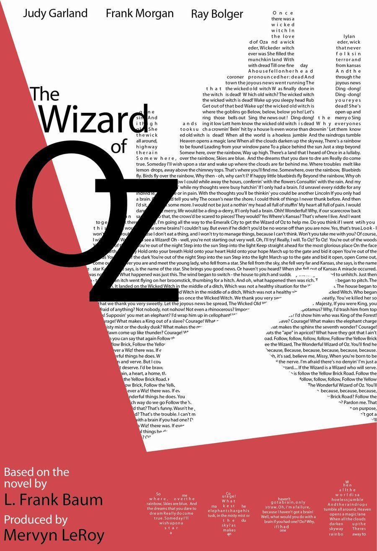 The Wizard of Oz (Alternative Movie Poster)