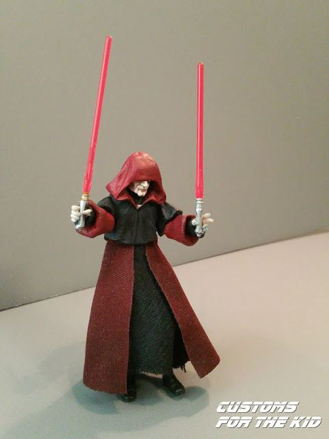Star Wars Customs For The Kid Clone Wars Darth Sidious Created By Darth Daddy Clone Wars Star Wars Sith Star Wars Characters