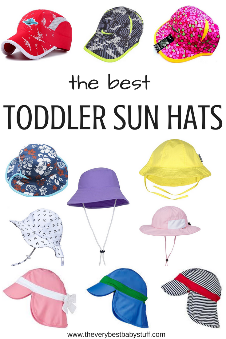 0bfb03cf The Best Toddler Sun Hats and Caps. Toddler beach, pool, sweaty, cool,  brimmed, protect neck, spf, upf, chin strap, cute hat, boy hat, girl hat.