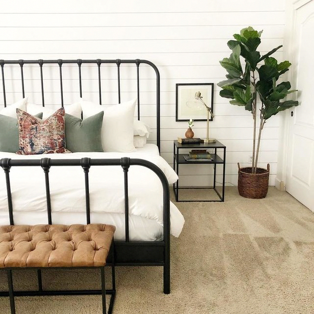 Knox Queen Metal Panel Bed In 2020 Remodel Bedroom Bedroom