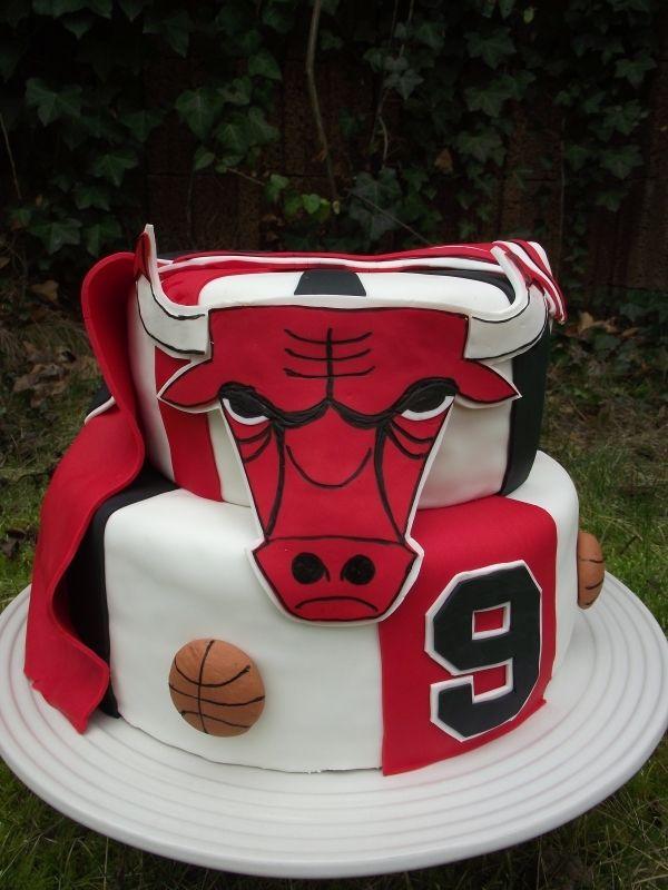 Awesome Bulls Grooms Cake Jordan Cake Michael Jordan Birthday Chicago Funny Birthday Cards Online Elaedamsfinfo