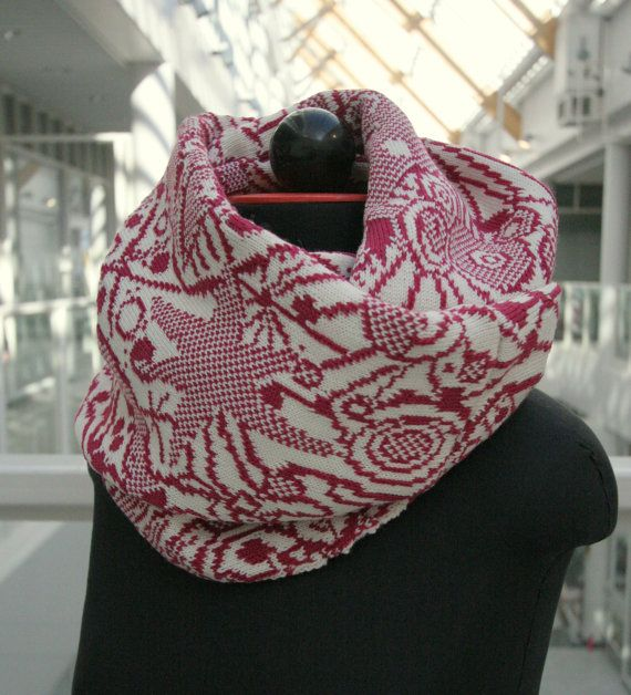 Fair Isle knit infinity scarf | Knitting/Crochet Projects ...