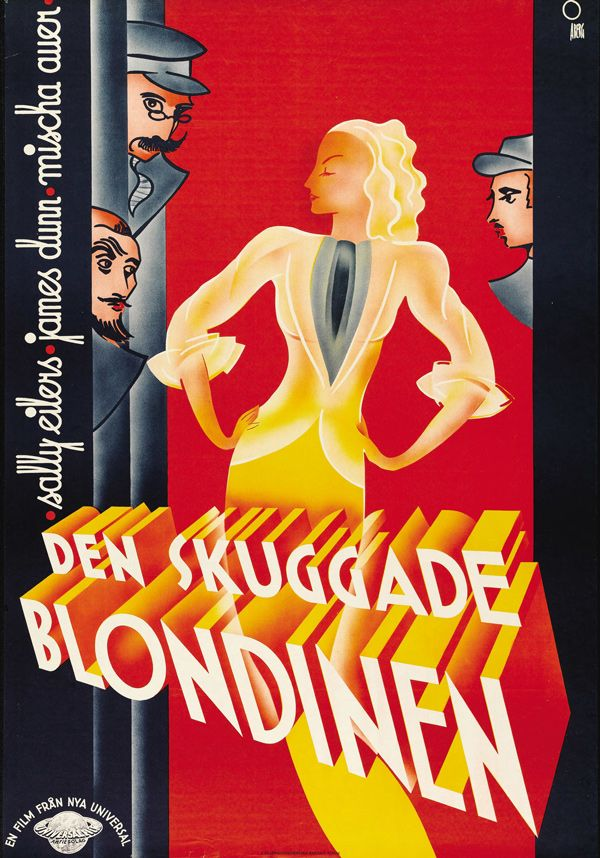 30 Vintage Swedish Movie Posters For Hollywood 50 Watts