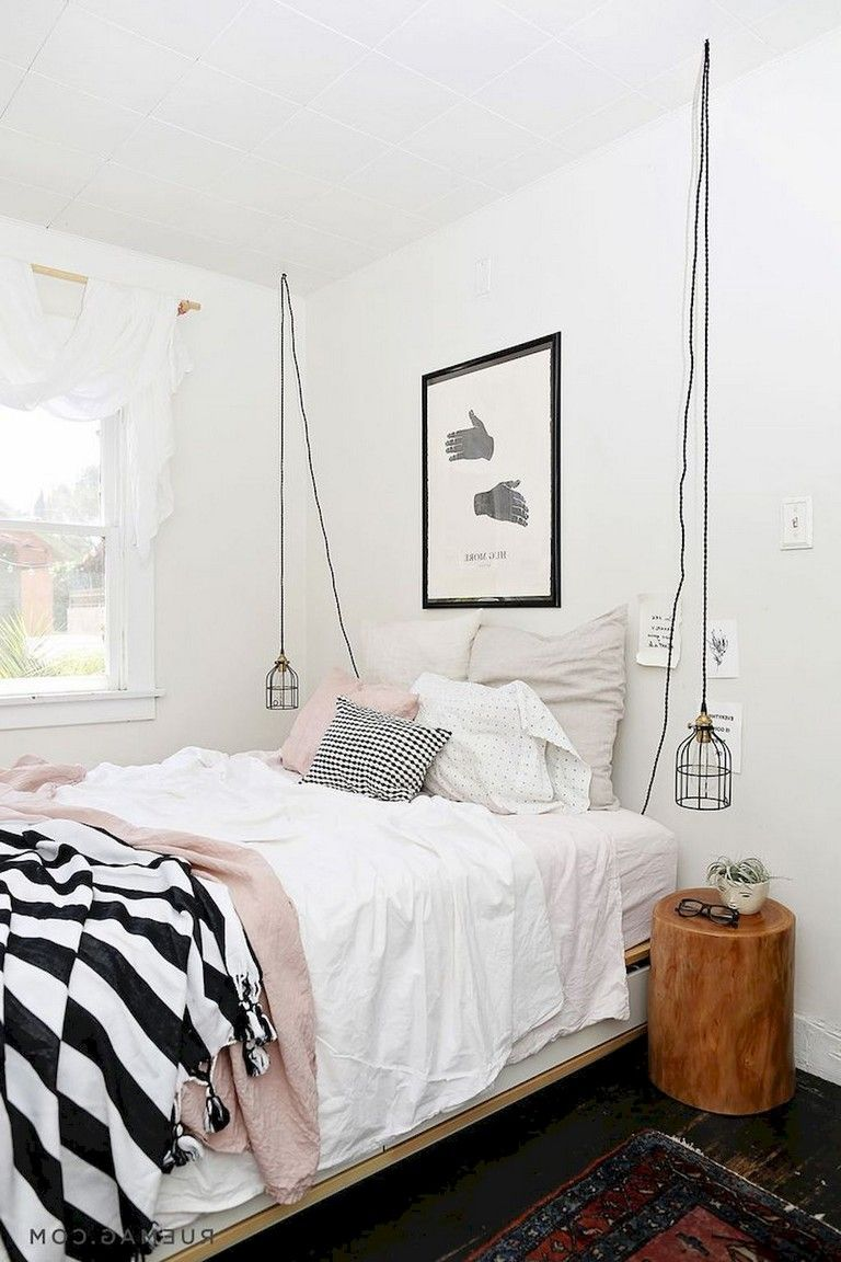 58 Comfy Minimalist Bedroom Decor Ideas Small Rooms Page 7 Of