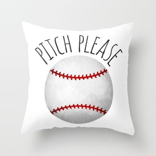 Throw Pillow Made From 100 Spun Polyester Poplin Fabric A Stylish Statement Baseball Throw Pillows Pillows Designer Throw Pillows