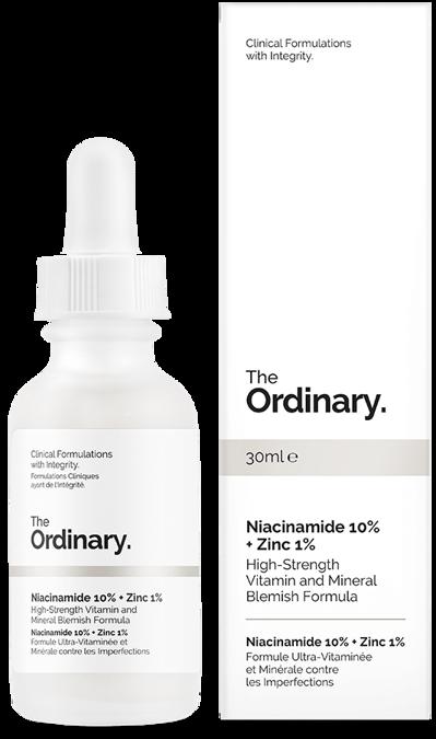 The Ordinary Niacinamide 10 + Zinc 1 Serum z
