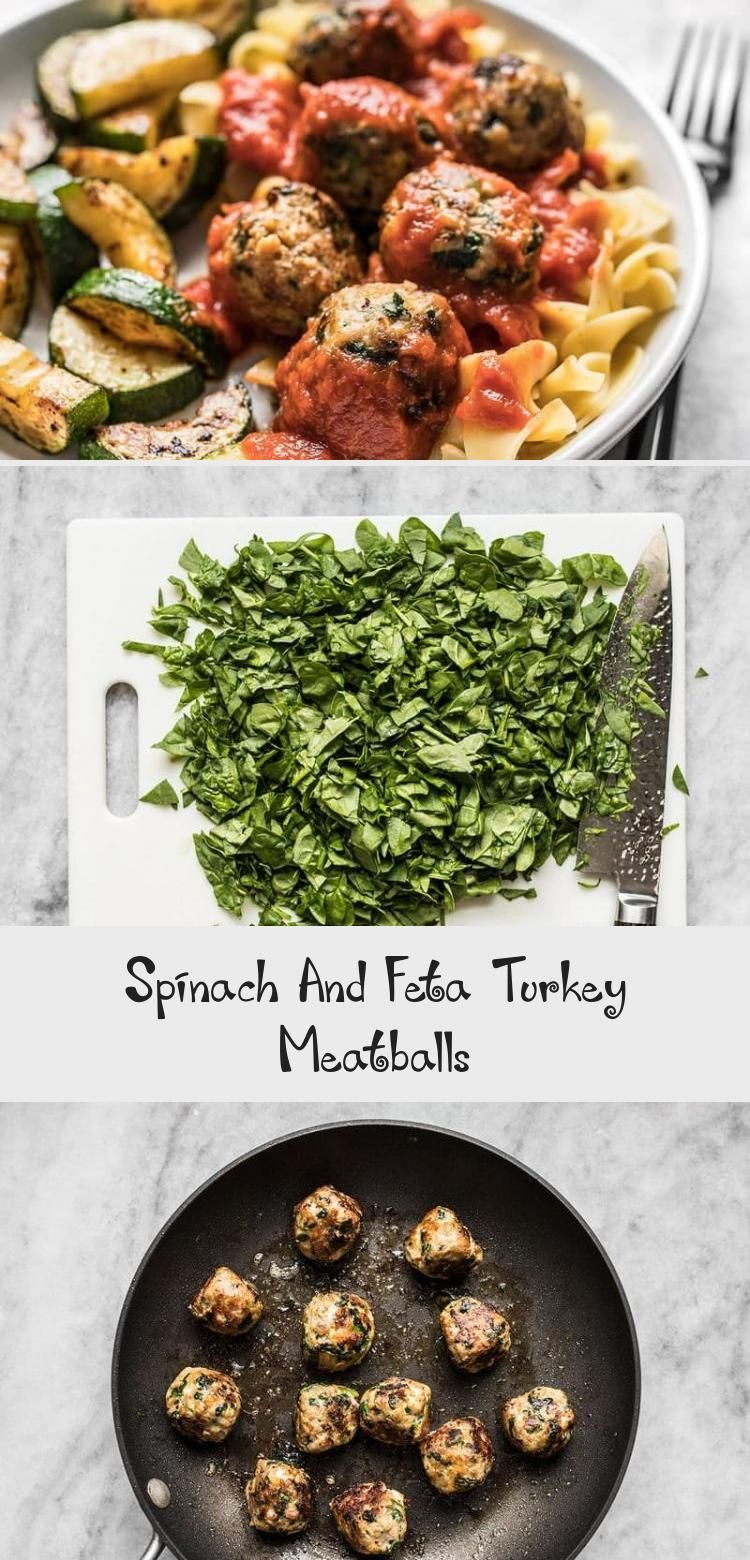 Spinach and Feta Turkey Meatballs are an easy way to add flavor and protein to your meal using inexpensive ground turkey Perfect for meal prep