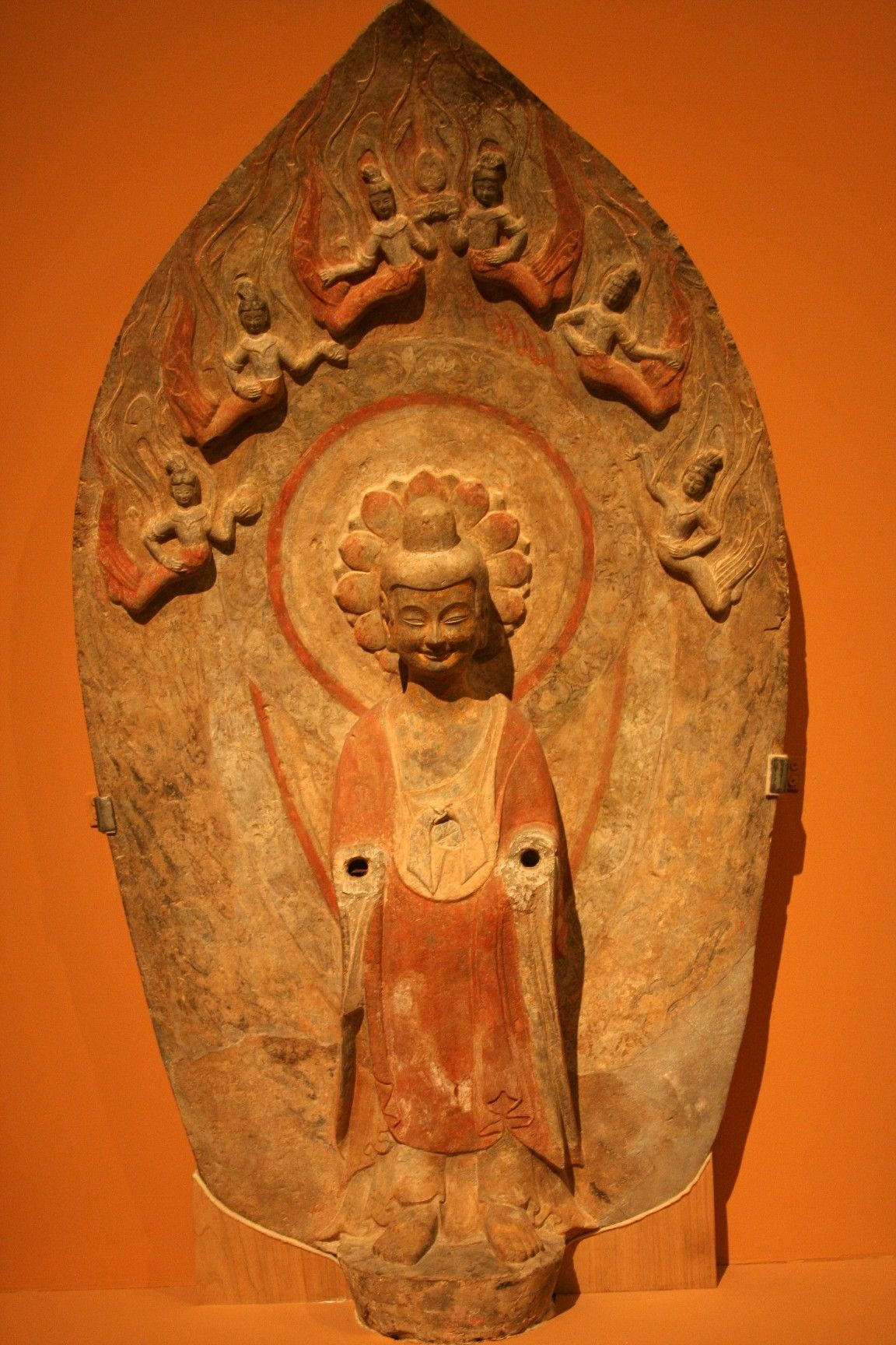 Buddha statue, Northern Wei Dynasty, (386 - 534), excavated from Long Xing Monastery, Qingzhou @ National Museum of China