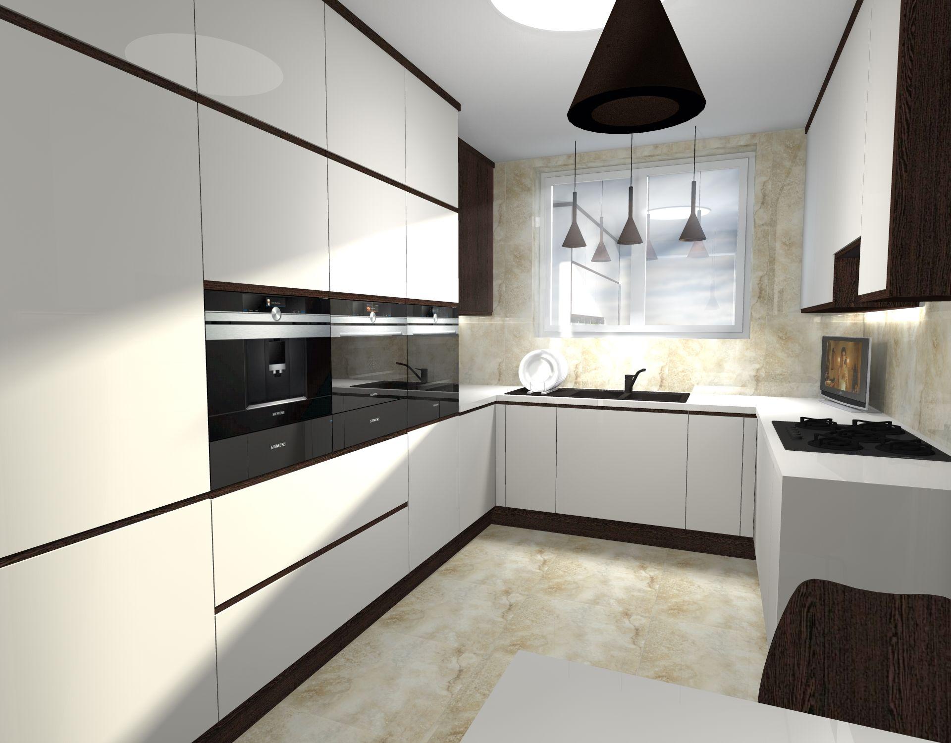 Projekt Kuchni W Domu Jednorodzinnym Lil Let Projektowanie Wnetrz Szczecin My Room Home My Home