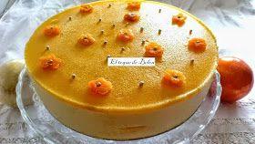Tarta mousse de melocotón  Hoy es la fiesta grande en Avilés y, aunque no esté mi hemano y mi cuñada que son siempre los que catan las tartas, tendré que repetir ésta,...