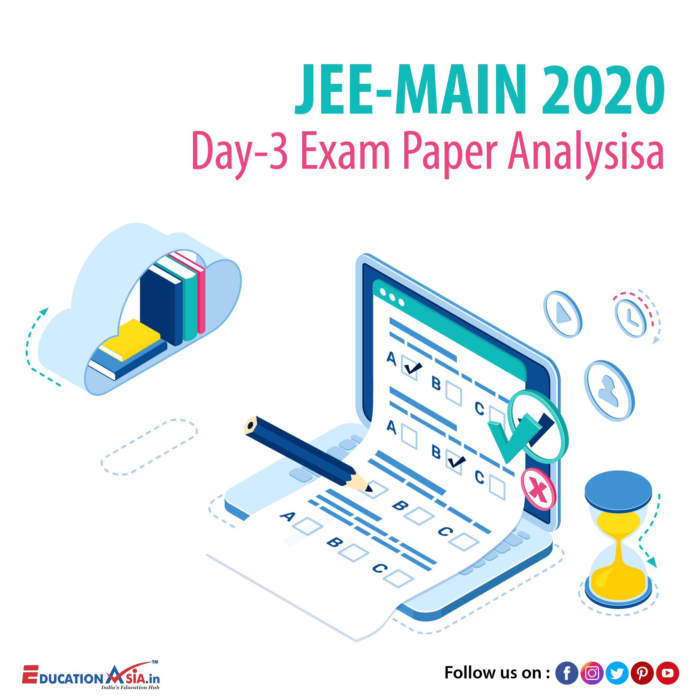 Jee Main Day 3 Analysis In 2020 Exam Papers Education Related Exam