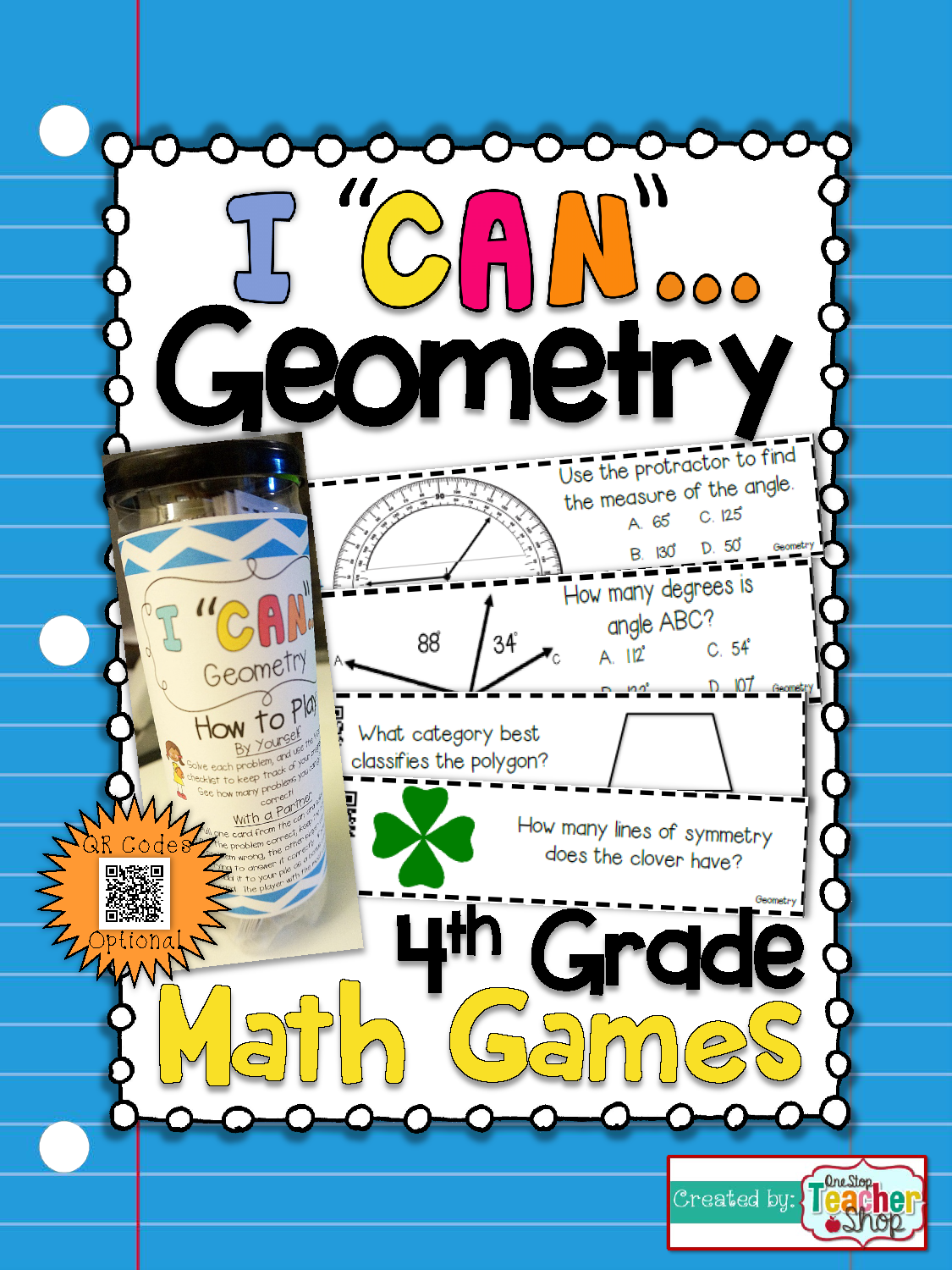 4th Grade Geometry Game