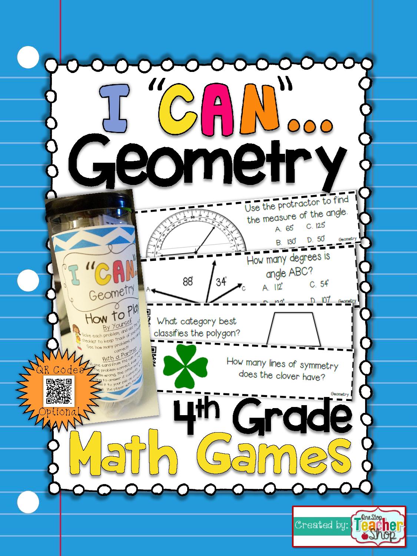 4th Grade Geometry Game