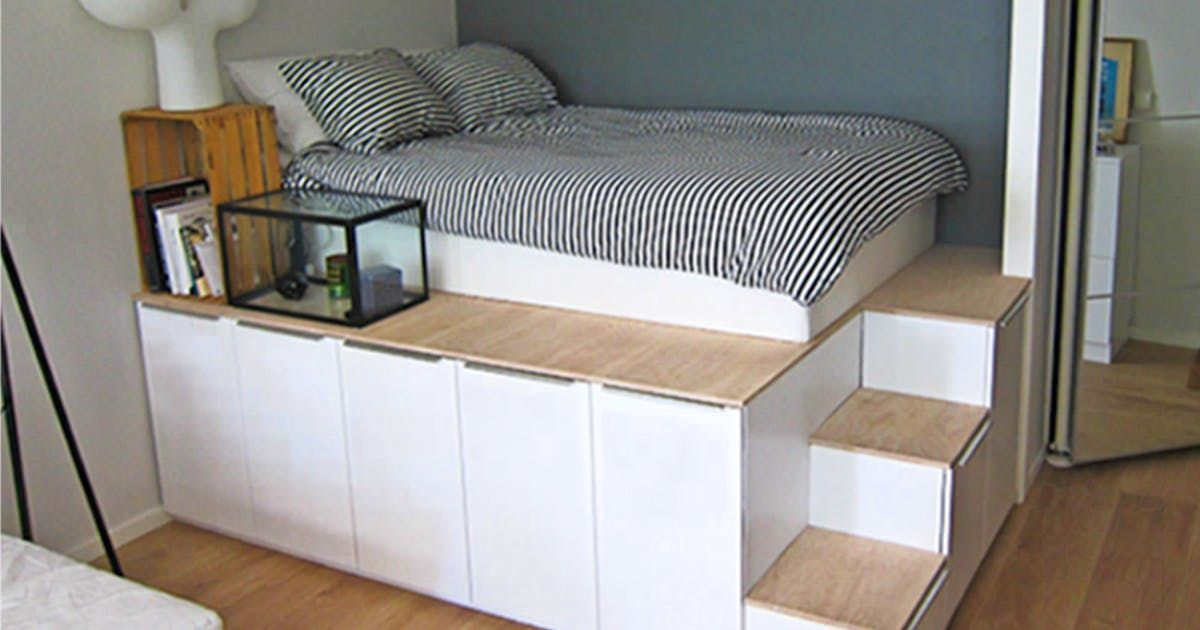 Få mere plads med Ikea-hacks #ikeaideen