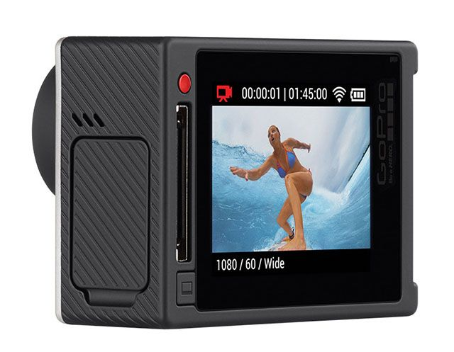 GoPro HERO4 Revealed! 4K Video at 30FPS and the First Built-In Touch