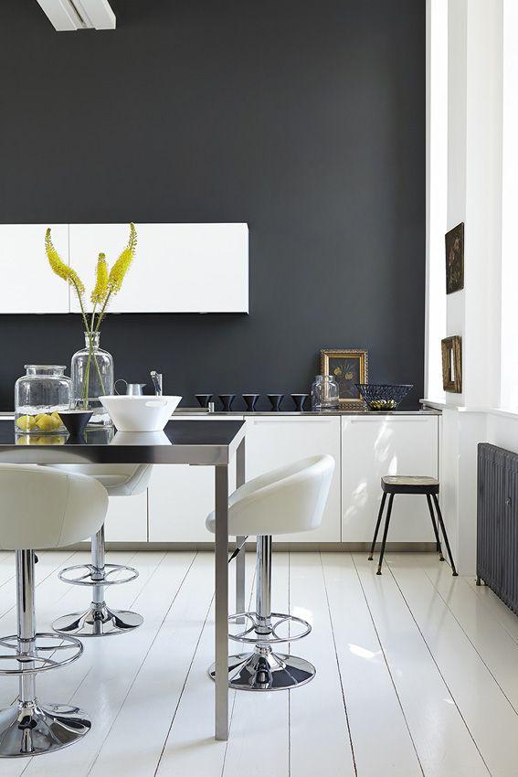 Peinture cuisine  11 couleurs tendance à adopter Side wall, Lofts