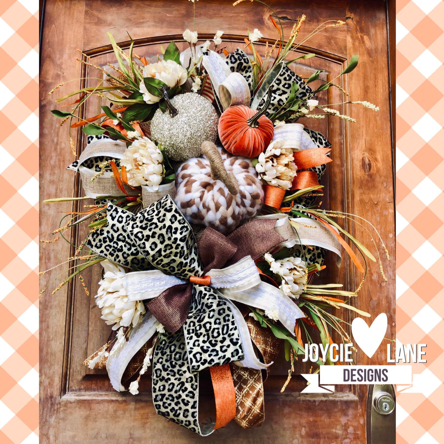 Halloween Decor Door Wreath Fall Wreath Farmhouse Wreath Velvet Pumpkin Pumpkin Swag Fall Decor Autumn Wreath Halloween Wreath
