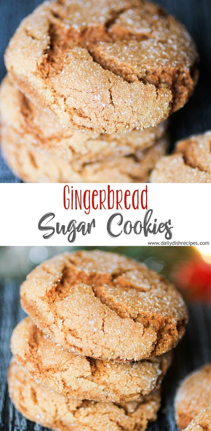 This is my favoriteGingerbread Sugar Cookies recipe! These cookies are incredi... This is my favo