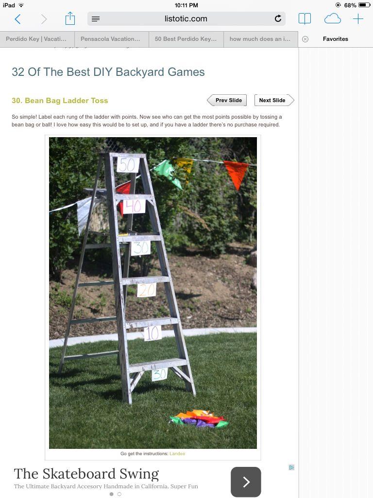 Superb Bean Bag Ladder Toss Games Carnival Party Games Kids Ncnpc Chair Design For Home Ncnpcorg