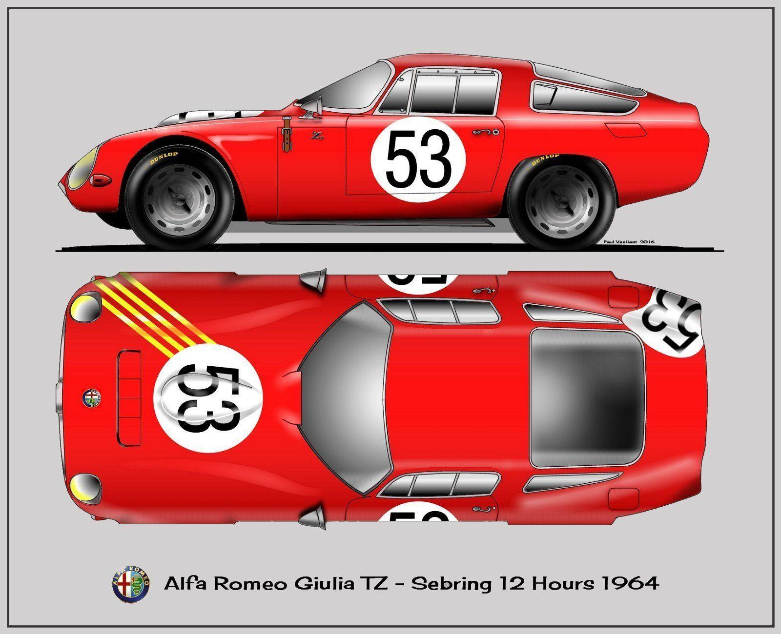 Alfa Romeo 001 | AvtoPosterArt