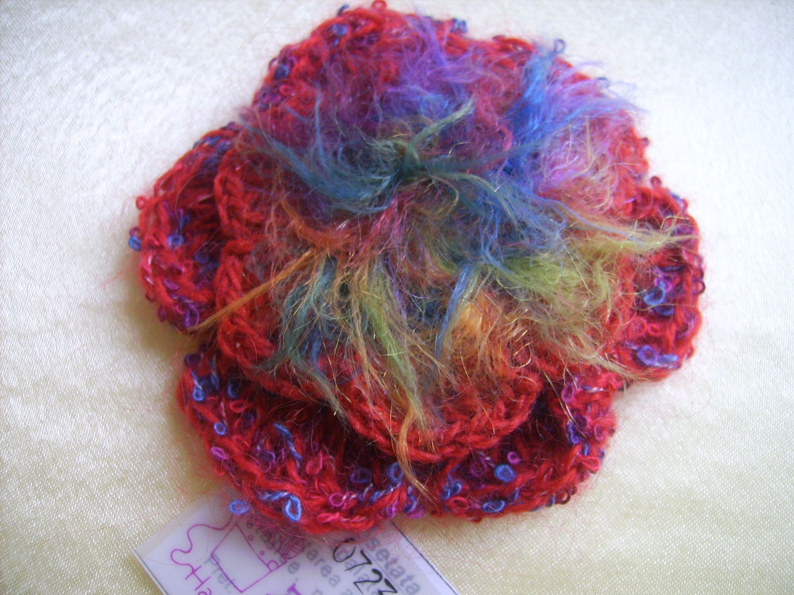 brooch mawusi crochet pin crocheted pinterest esi