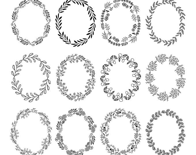 Text Dividers Flourish Svg Png Dxf Etsy Flower Line Drawings How To Draw Hands Clip Art