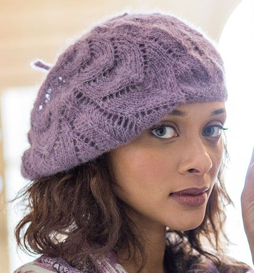 Slouchy Hat Knitting Patterns Knit Three Purl Two Pinterest