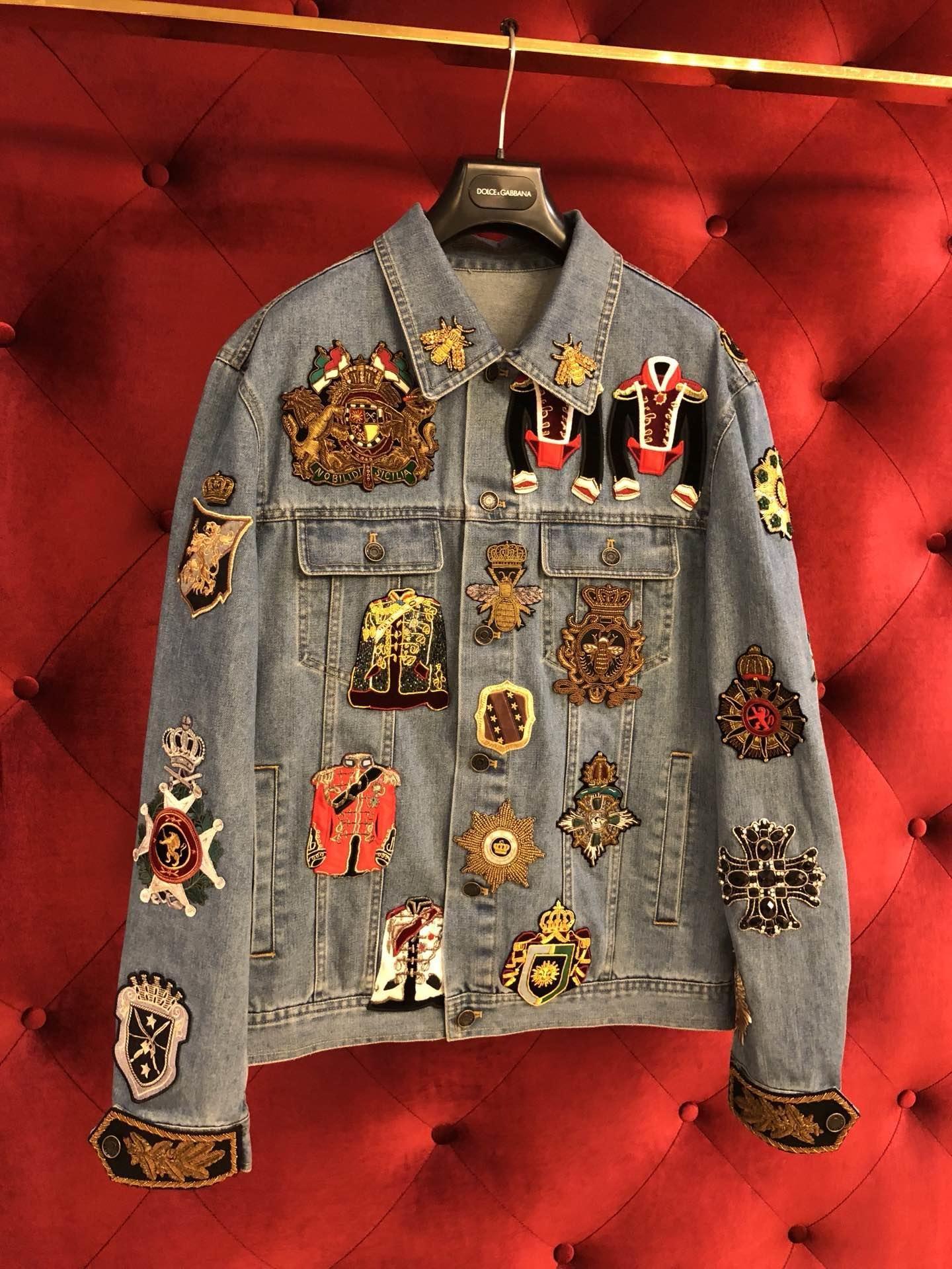 85caf5563ce6d3 Replica Dolce & Gabbana Medal Denim Jacket 2019 #50216 – Buy Good Items:  Best