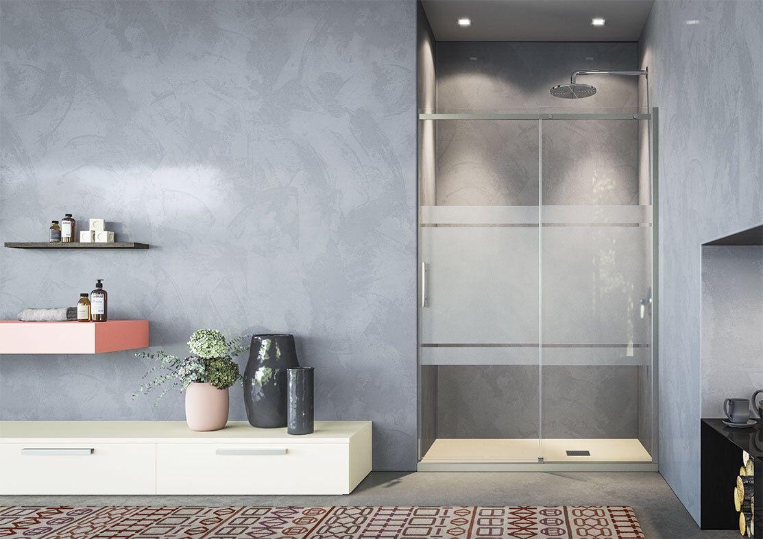 Box doccia modello gaia di tda con anta scorrevole cristallo
