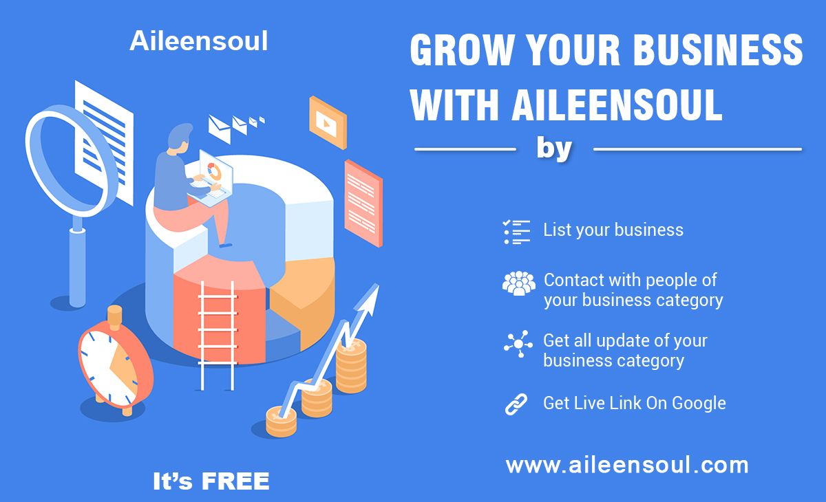 Promote your Business  List your Business on Aileensoul - A