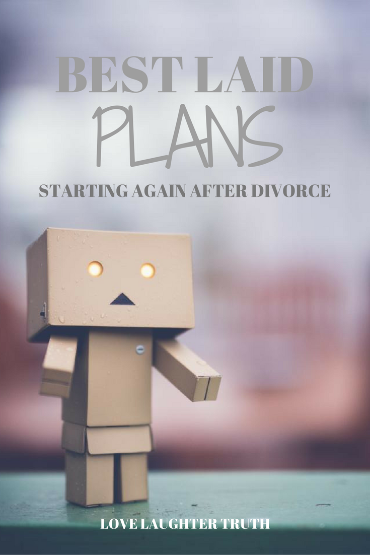 How do you start again after divorce