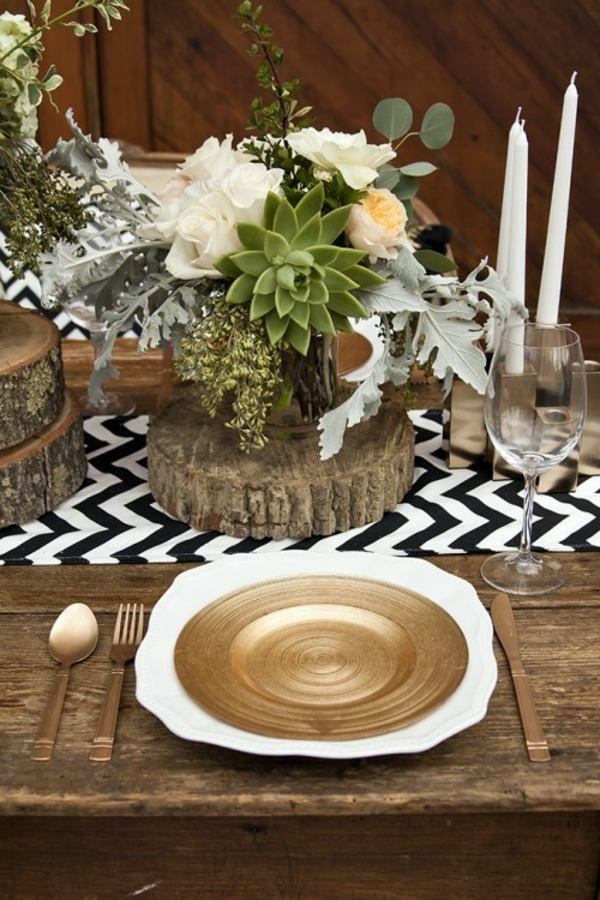 Rustic Wedding Decor Do It Yourself Warm Earth Tones