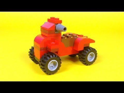Lego Quad Bike Building Instructions Lego Classic 10696 How To
