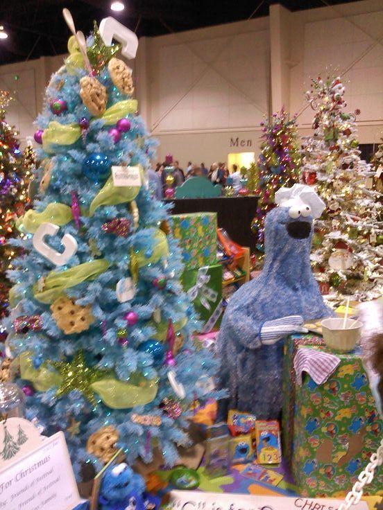 Festival Of Trees Cookie Monster Christmas Christmas Tree